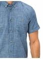 LC Waikiki Kısa Kollu Gömlek İndigo